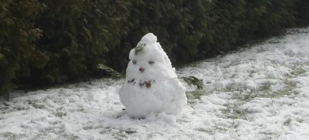 Sne kan formes