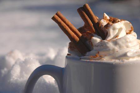 Kakao med kanel og flødeskum
