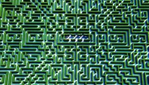 Labyrint i haven