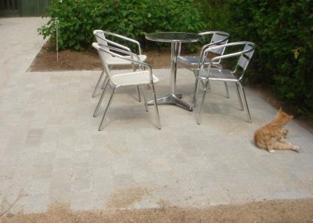 Haveplan belægning - Idas Have - inspiration til din have